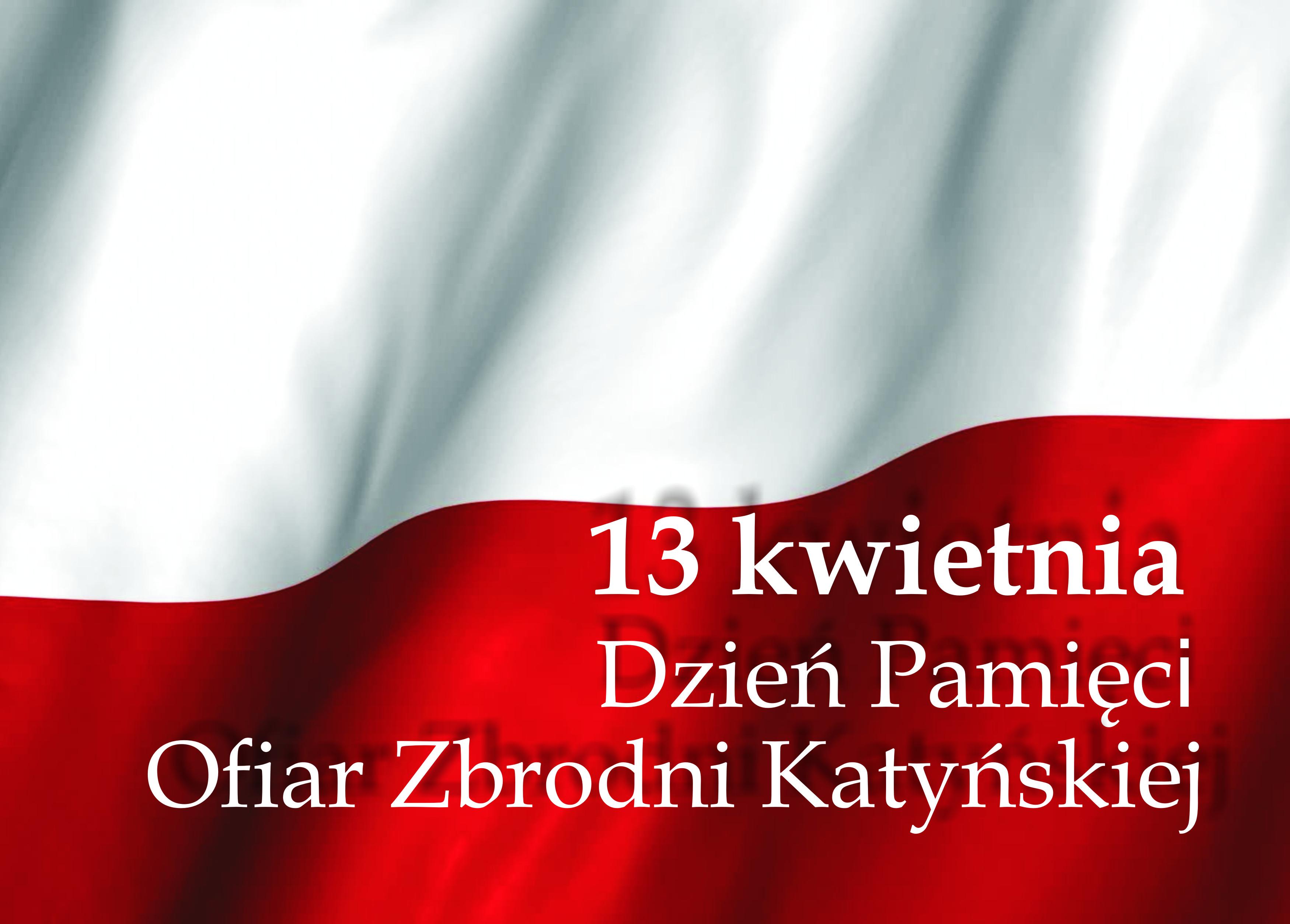 Ilustracja do informacji: Dzień Pamięci Ofiar Zbrodni Katyńskiej