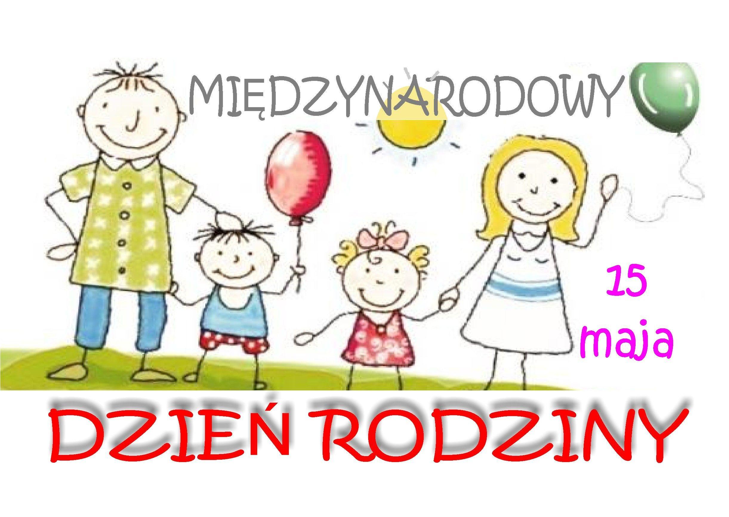 Ilustracja do informacji: 15 maja – Międzynarodowy Dzień Rodzin
