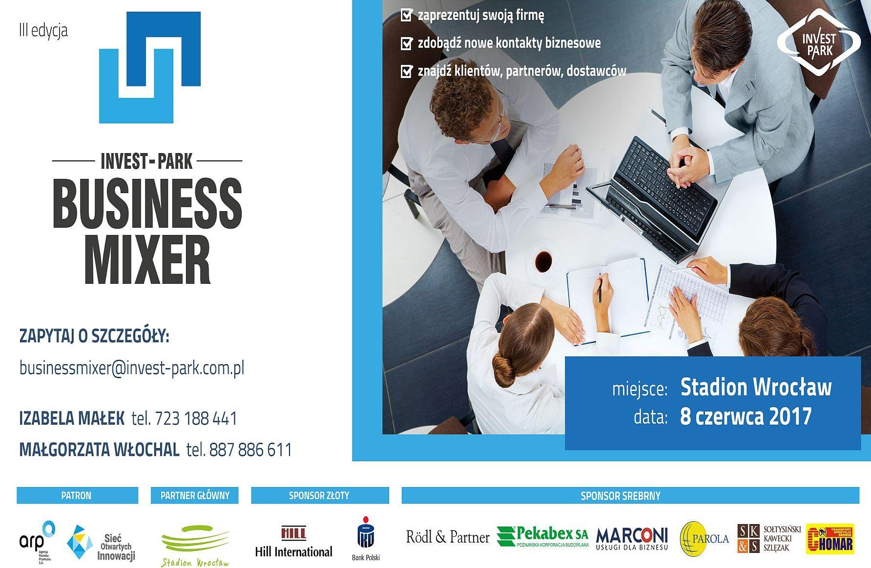 Ilustracja do informacji: Business Mixer po raz trzeci!