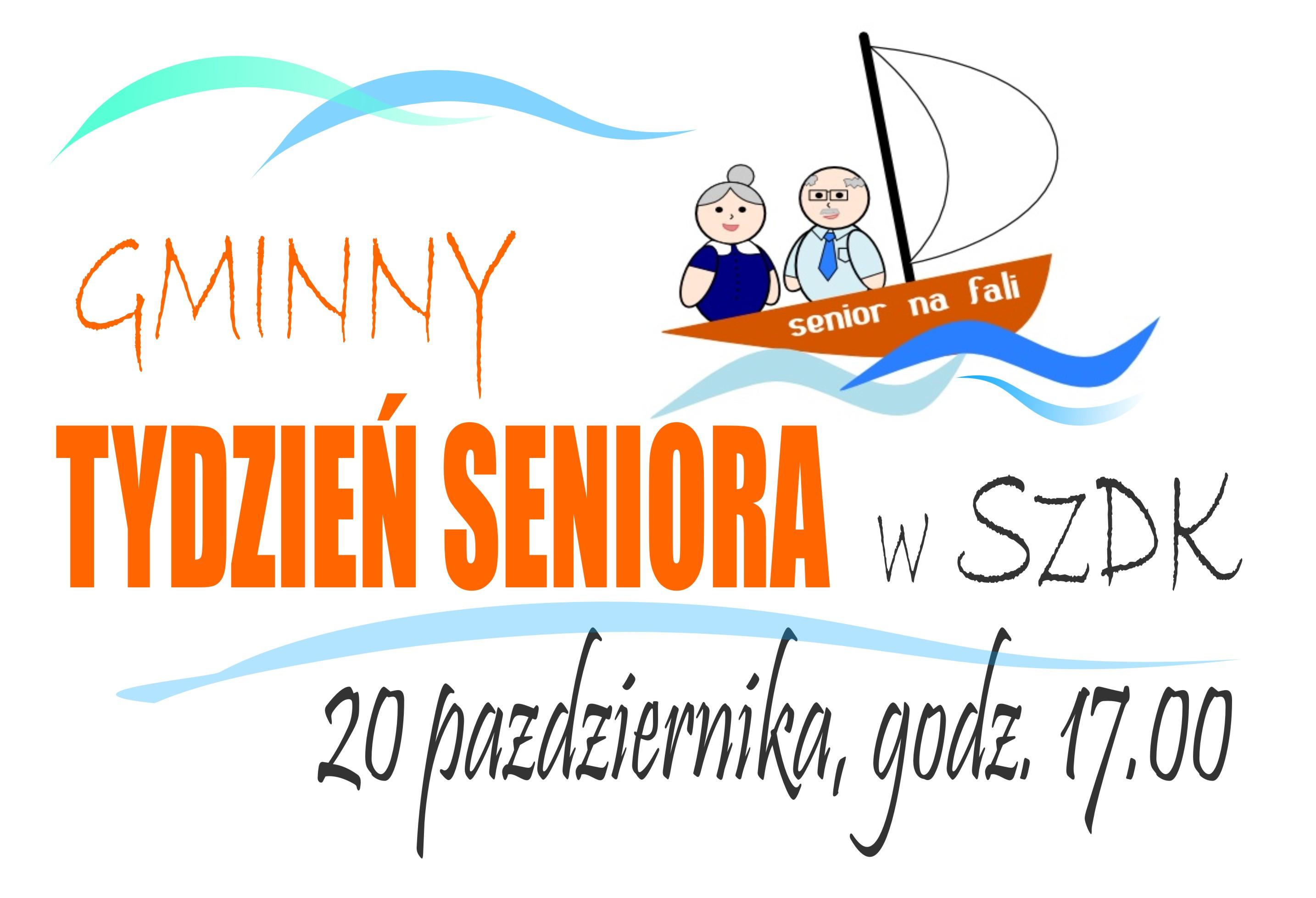 Ilustracja do informacji: Wesoły i aktywny senior