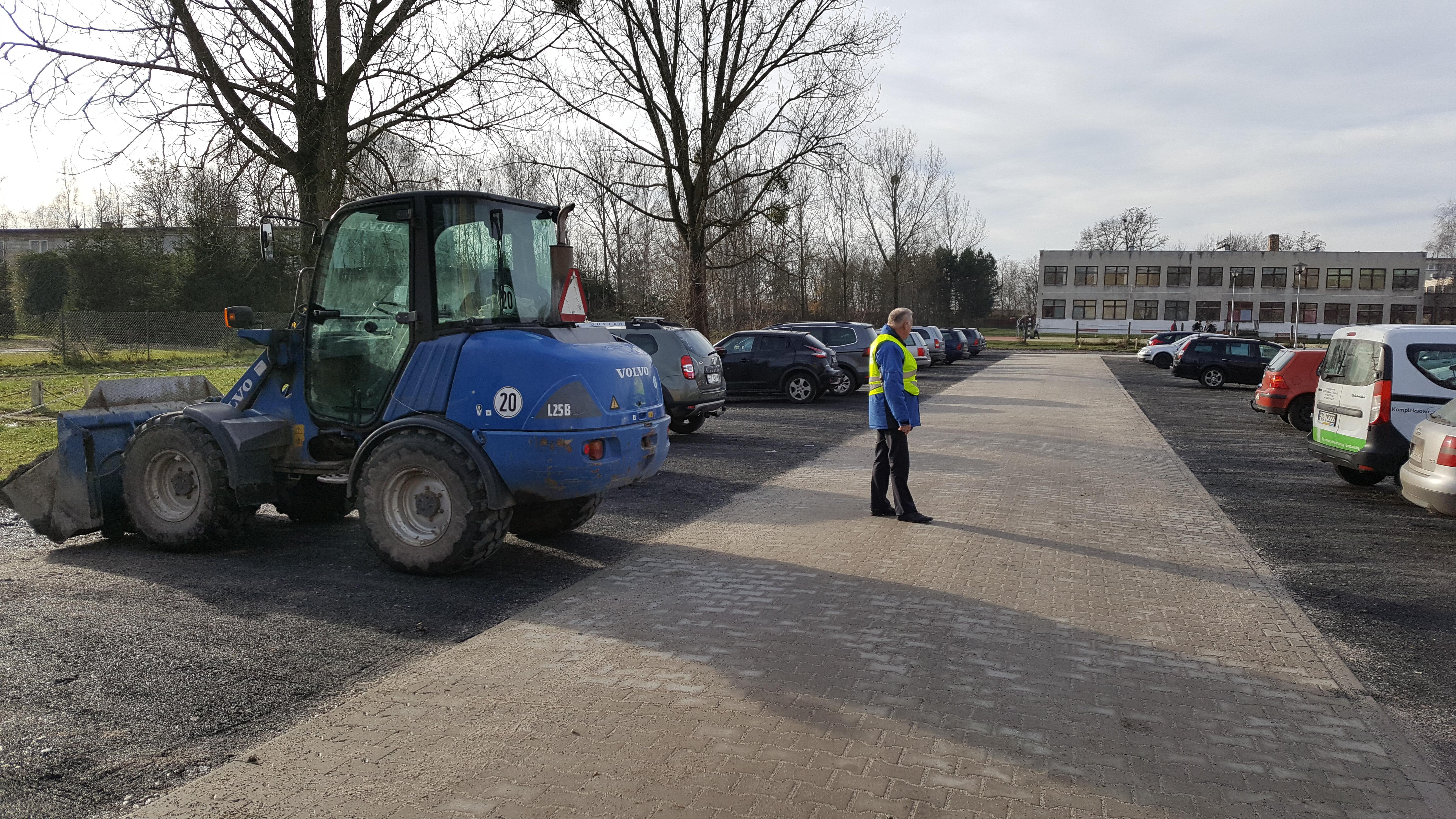 Ilustracja do informacji: Modernizacja parkingu przy ul. Brzozowej zakończona
