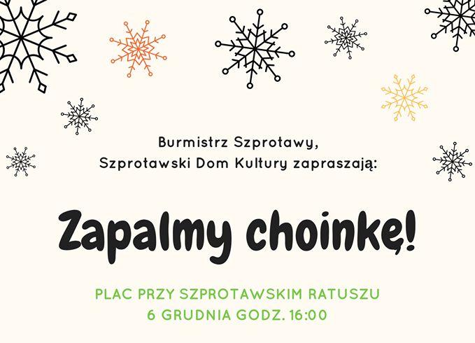 Ilustracja do informacji: Choinka na Mikołajki
