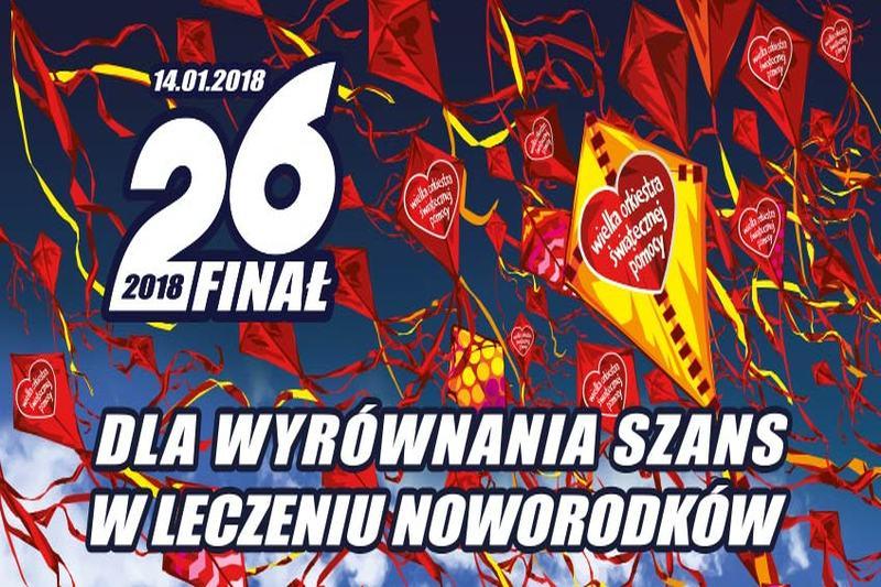 Ilustracja do informacji: 26. Finał WOŚP w Szprotawie