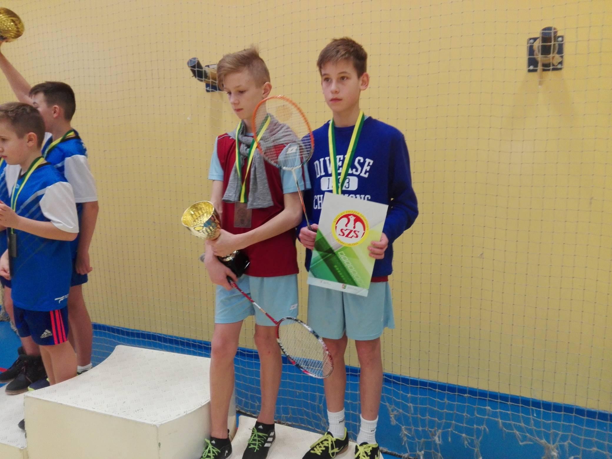 Ilustracja do informacji: Brązowy medal w badmintonie