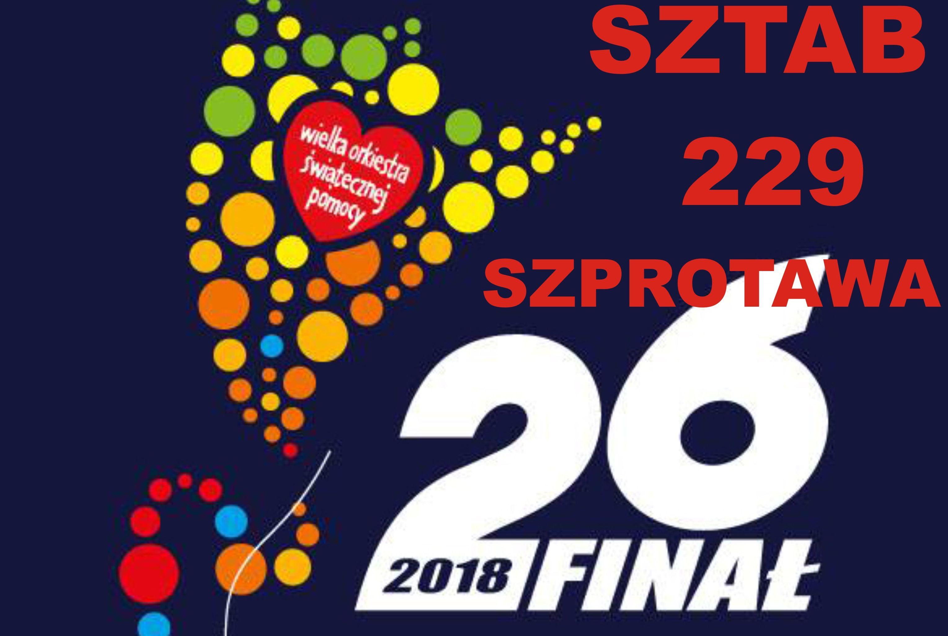 Ilustracja do informacji: Koncerty i imprezy towarzyszące 26. Finałowi WOŚP - Sztab 229 Szprotawa