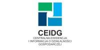 Baner: Centralna Ewidencja i Informacja o Działalności Gospodarczej