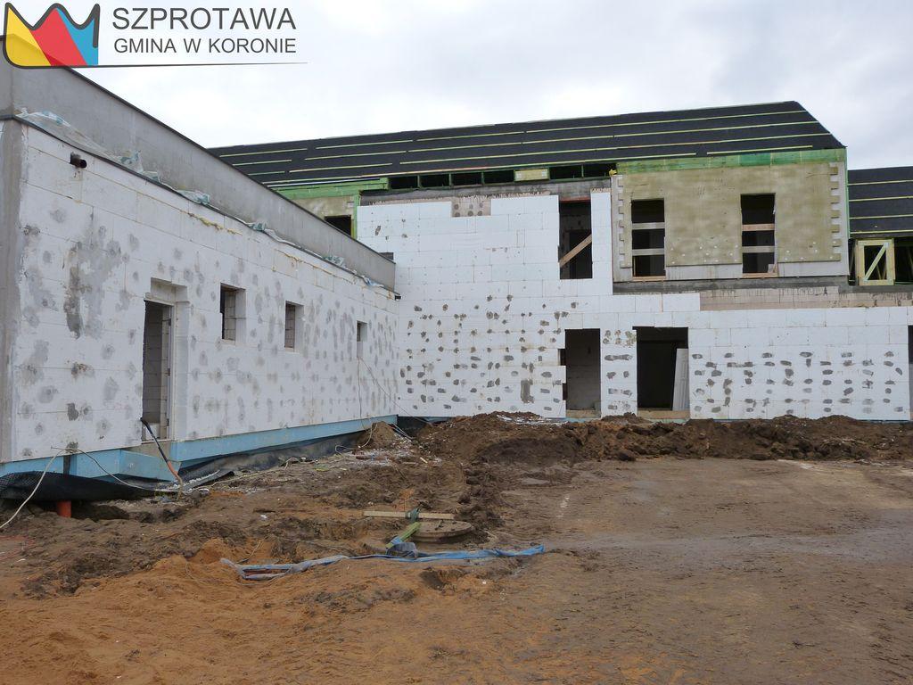 Ilustracja do informacji: Bez opóźnień przy budowie przedszkola