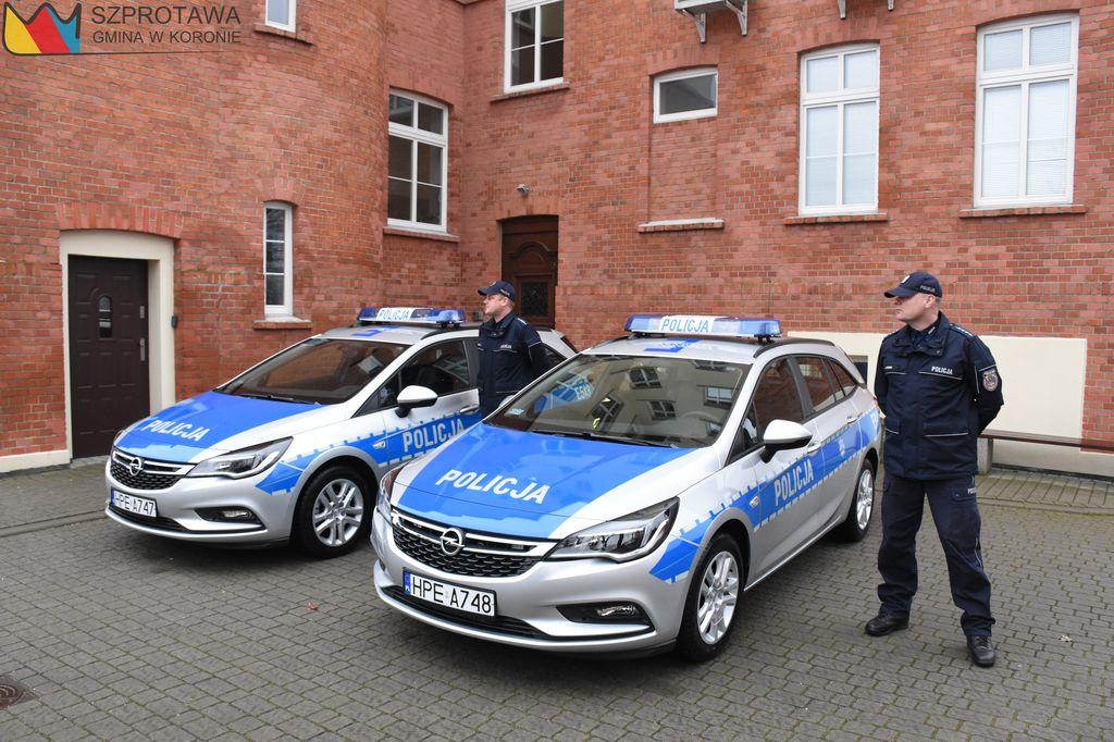 Ilustracja do informacji: Szprotawska Policja ma nowe radiowozy