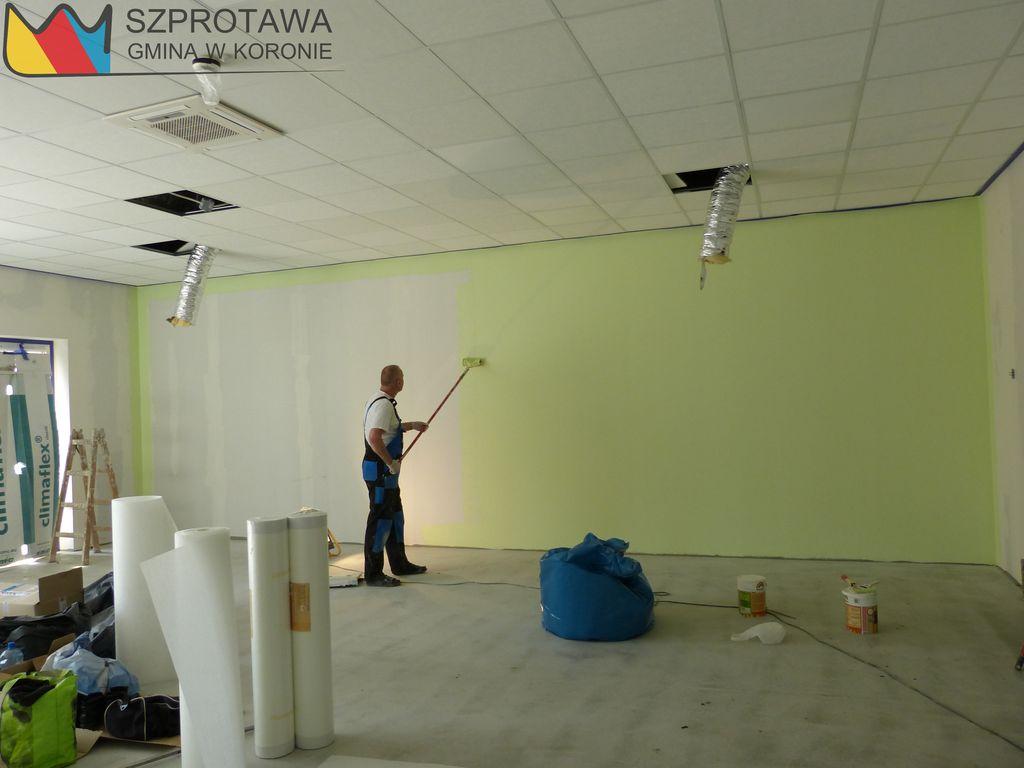 Ilustracja do informacji: Jeszcze 4 tygodnie potrwa przebudowa budynku przedszkola
