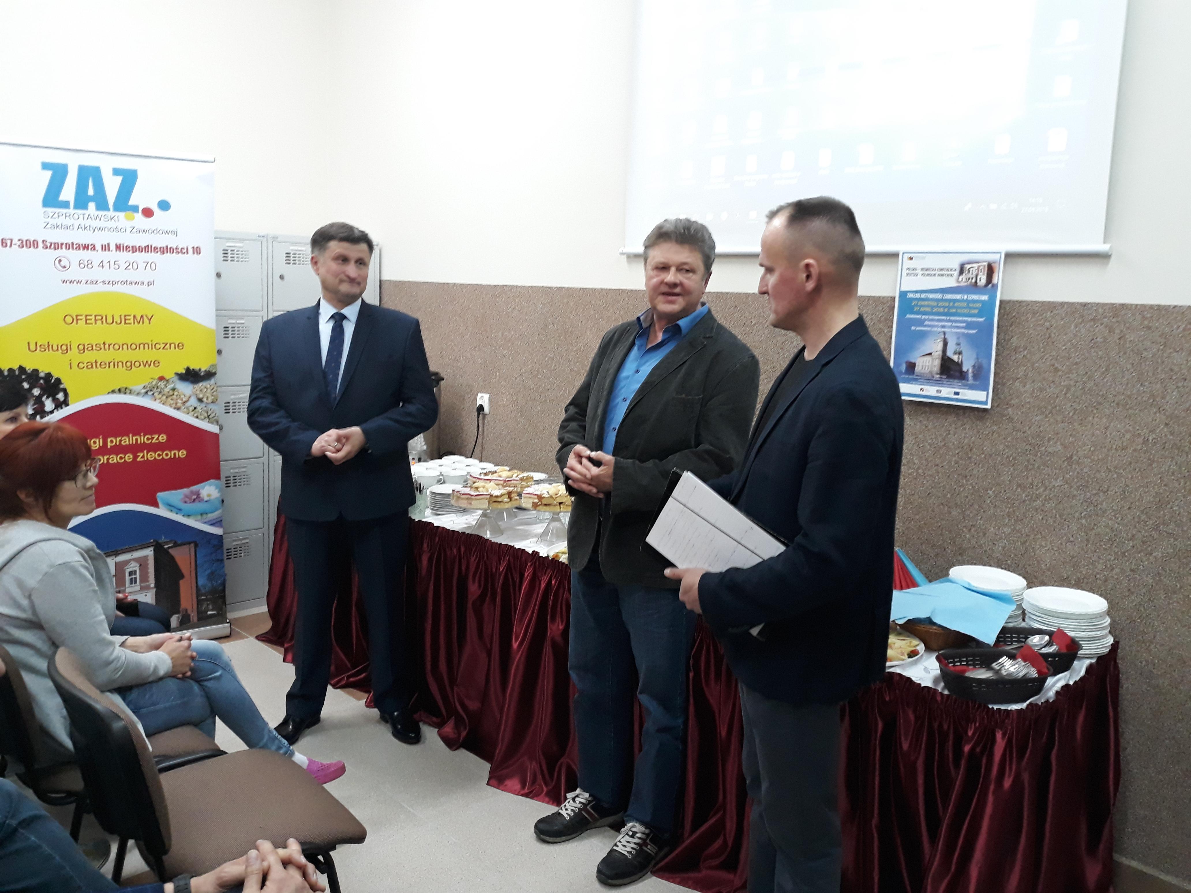 Ilustracja do informacji: Transgraniczna polsko-niemiecka konferencja w Szprotawie