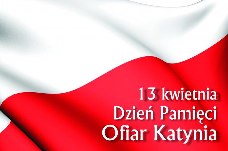Ilustracja do informacji: Dzień Pamięci Ofiar Katynia