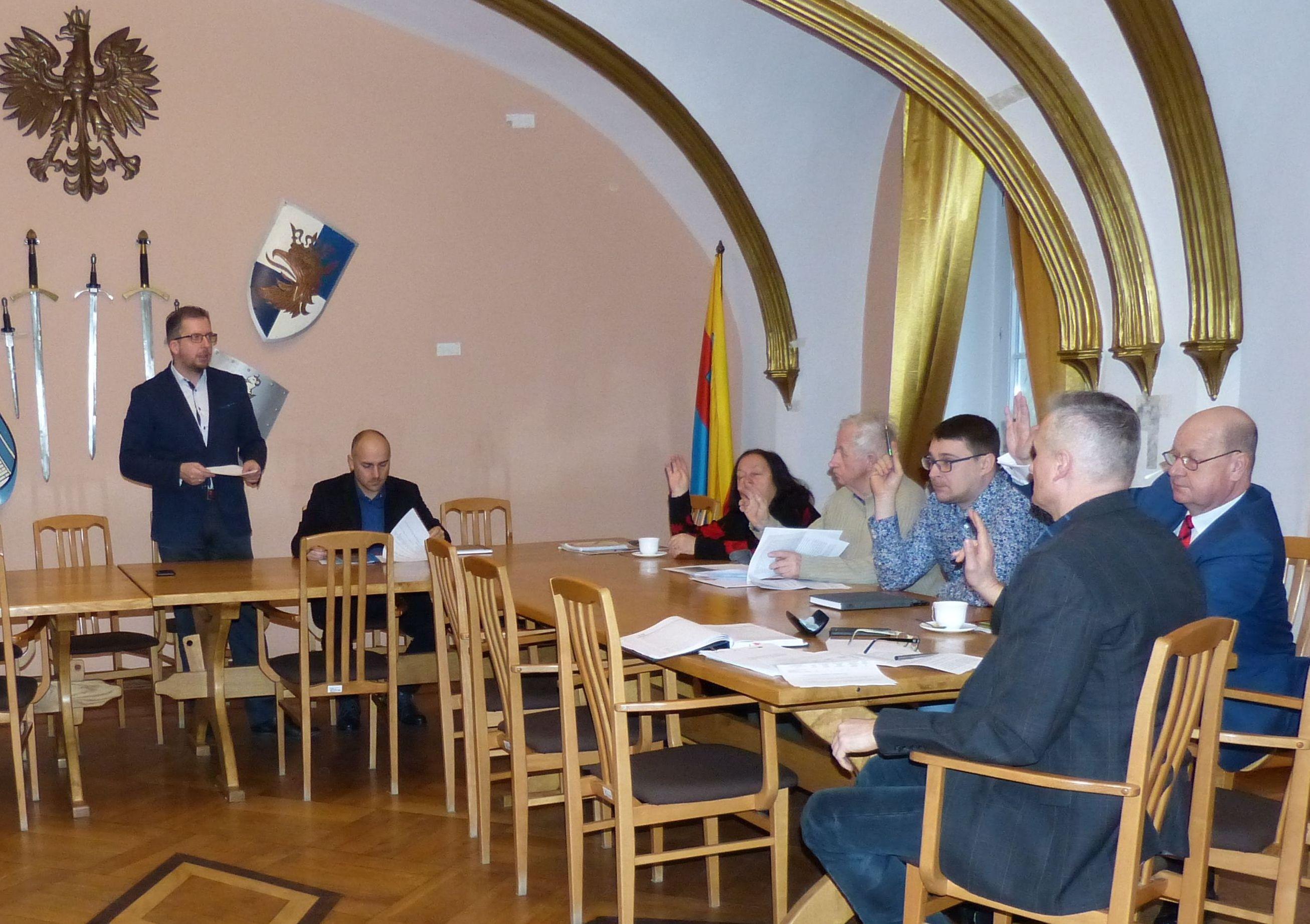 Ilustracja do informacji: Pierwsze posiedzenie Komitetu Rewitalizacji w nowym składzie