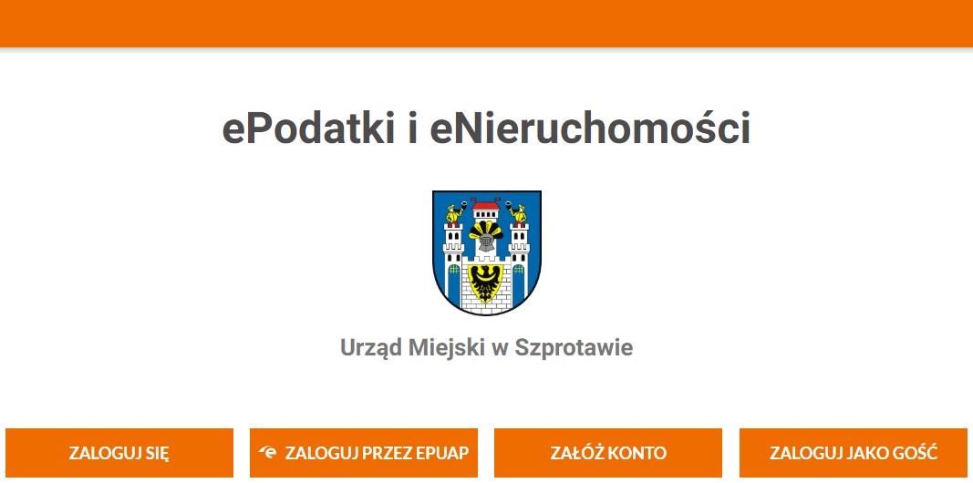 Ilustracja do informacji: Nowa e-usługa dla Szprotawian