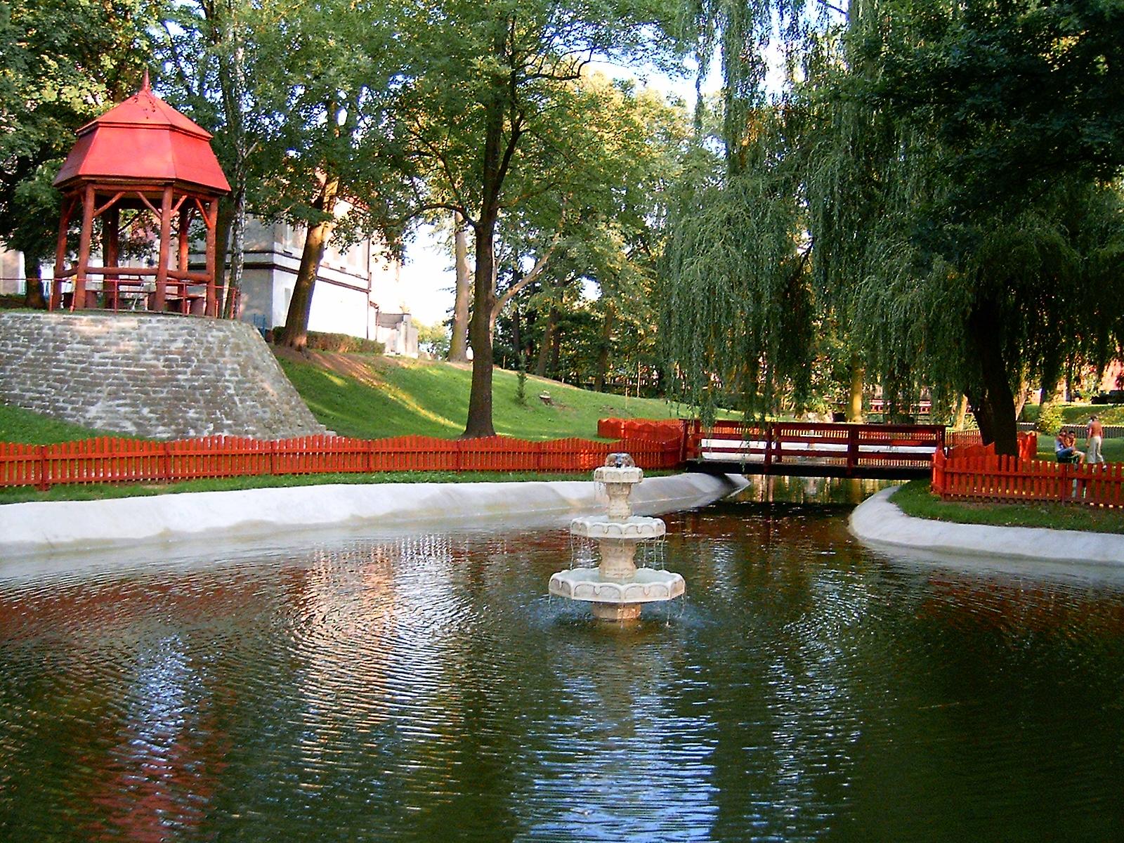 Ilustracja do informacji: Szprotawskie parki miejskie do rewitalizacji