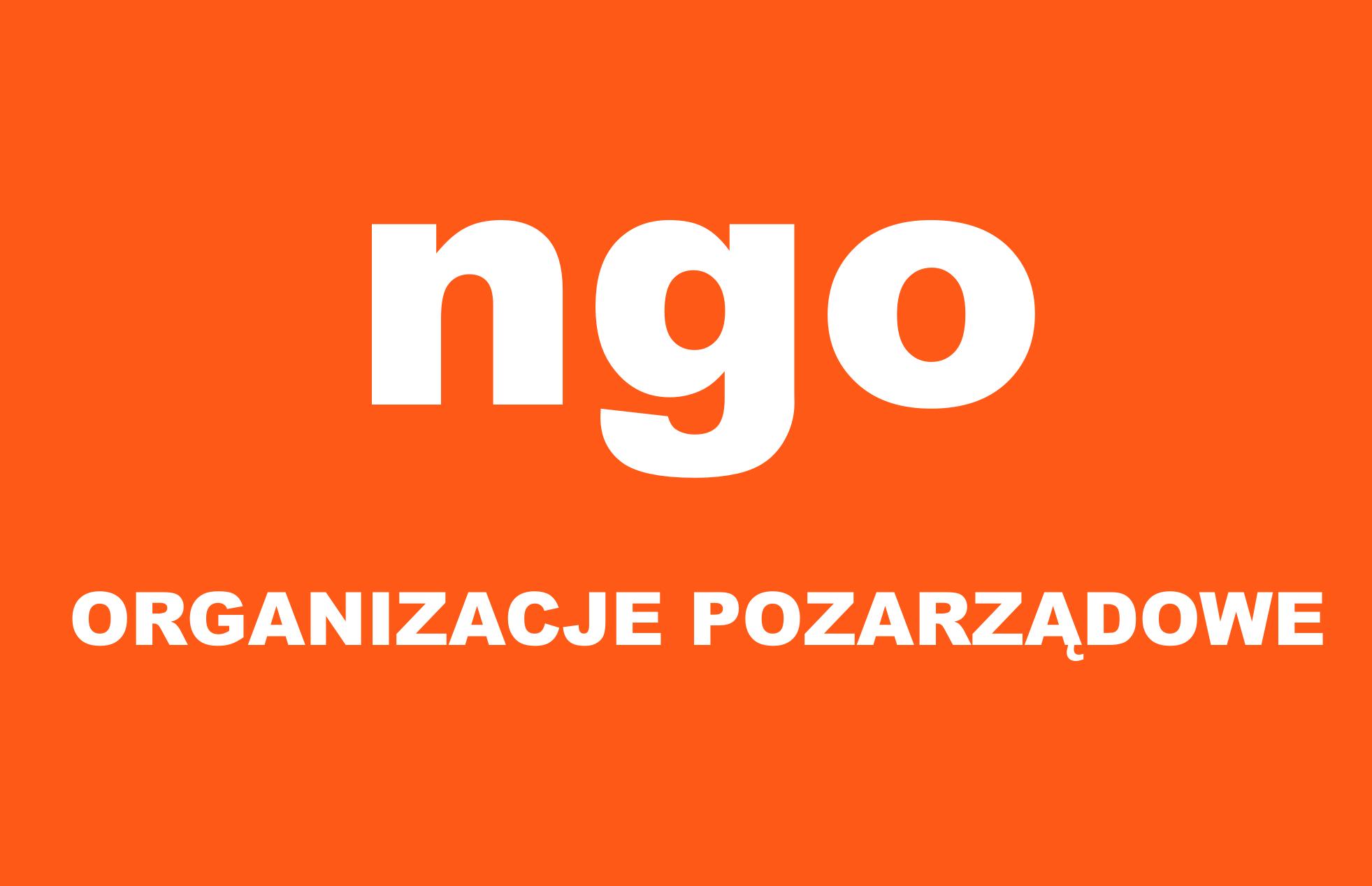 Ilustracja do informacji: Organizacje pozarządowe
