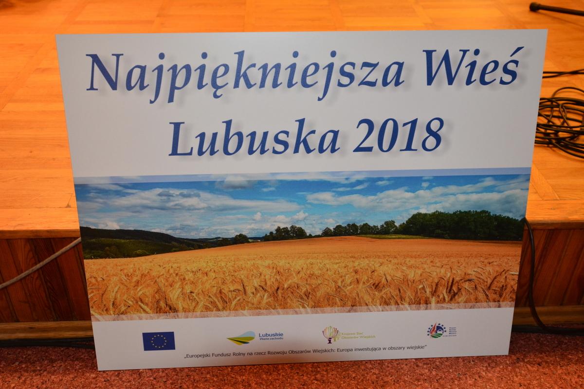 Ilustracja do informacji: Najpiękniejsza Wieś Lubuska 2019- konkurs