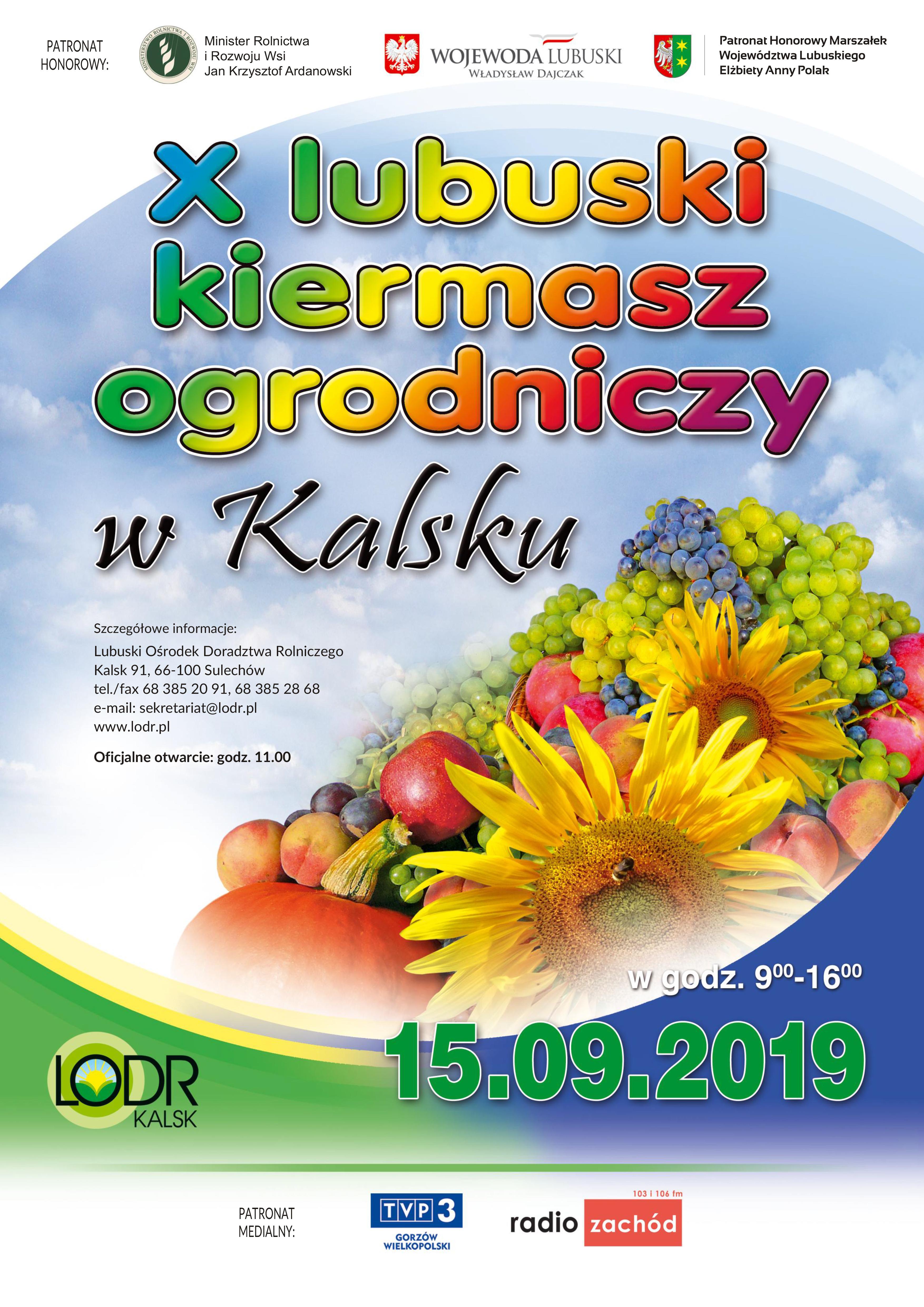 Ilustracja do informacji: Program targów rolniczych