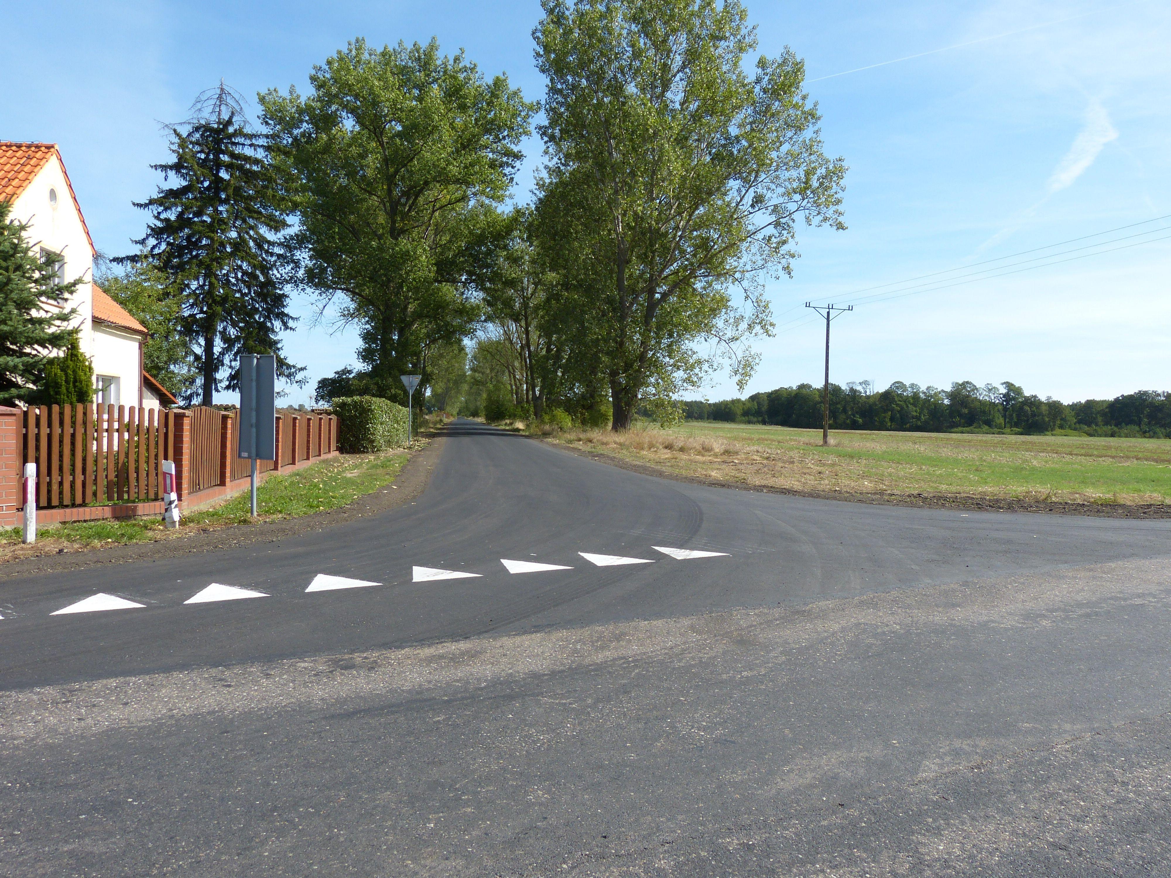 Ilustracja do informacji: Blisko 3 km dróg z nową nawierzchnią asfaltową