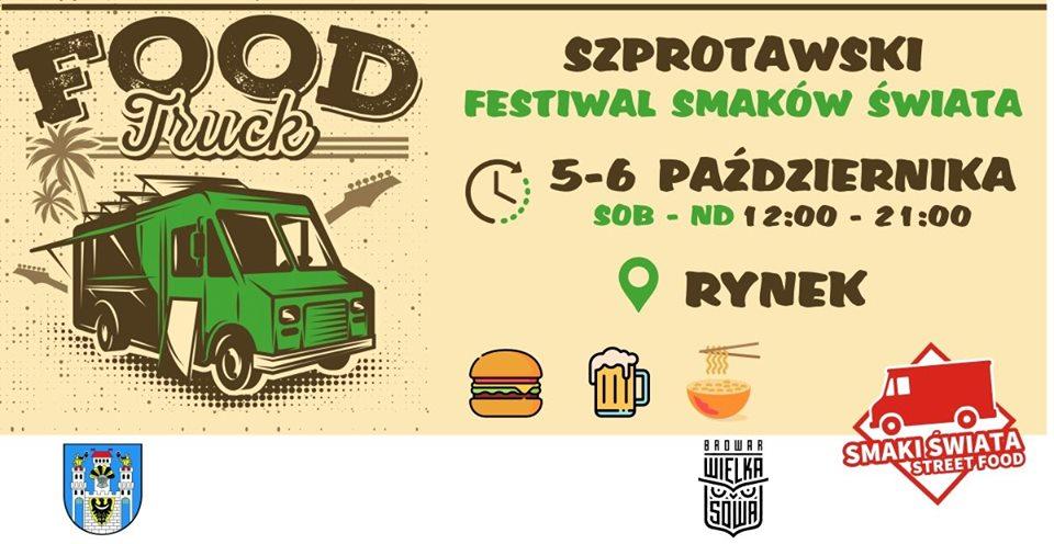 Ilustracja do informacji: II Szprotawski Zlot Food Trucków