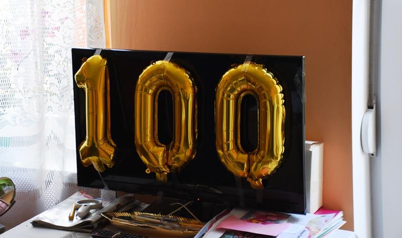 Ilustracja do informacji: Wszystkiego najlepszego dla 100-letniej szprotawianki