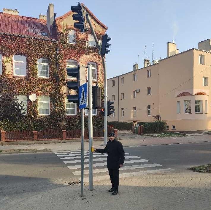 Ilustracja do informacji: Sygnalizacja świetlna przy ulicy Kościuszki już działa
