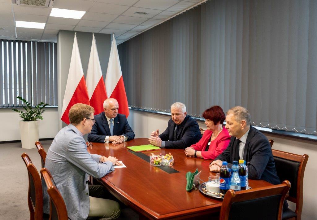 Ilustracja do informacji: Wizyta u Wojewody Lubuskiego