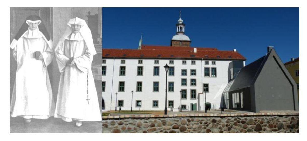 Ilustracja do informacji: Historia zakonu i klasztoru Magdalenek od pokuty
