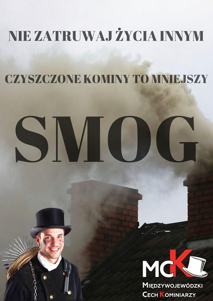Ilustracja do informacji: Czyszczone kominy to mniejszy smog