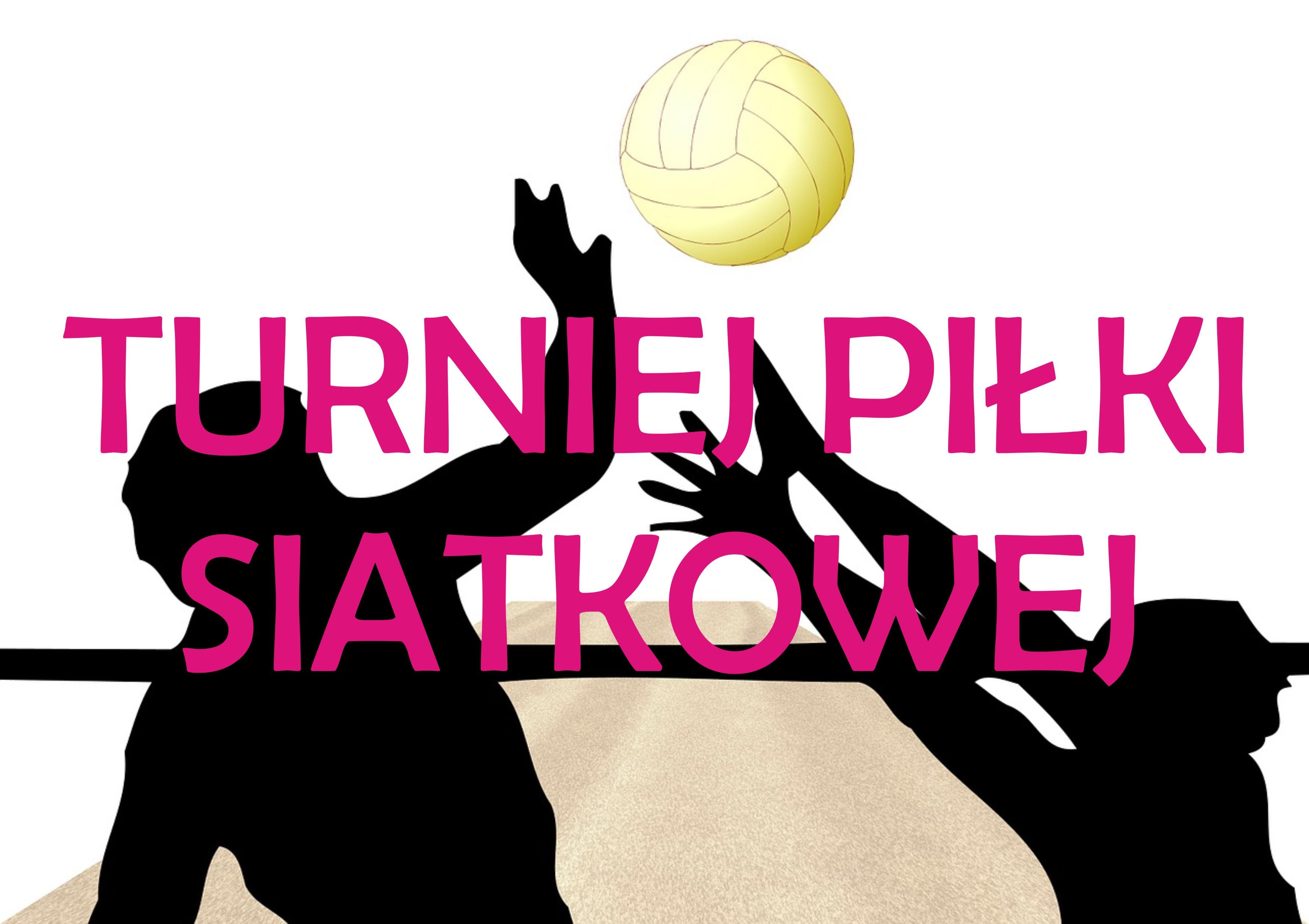 Ilustracja do informacji: Zaproszenie na turniej siatkówki