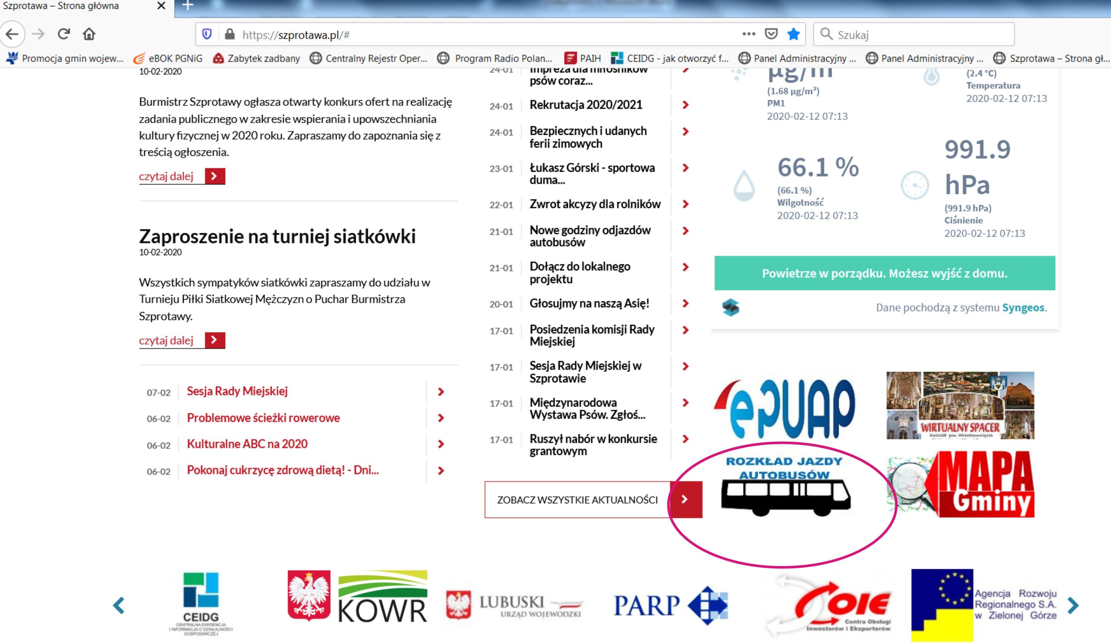 Ilustracja do informacji: Znajdź aktualny rozkład jazdy autobusów szybko i łatwo