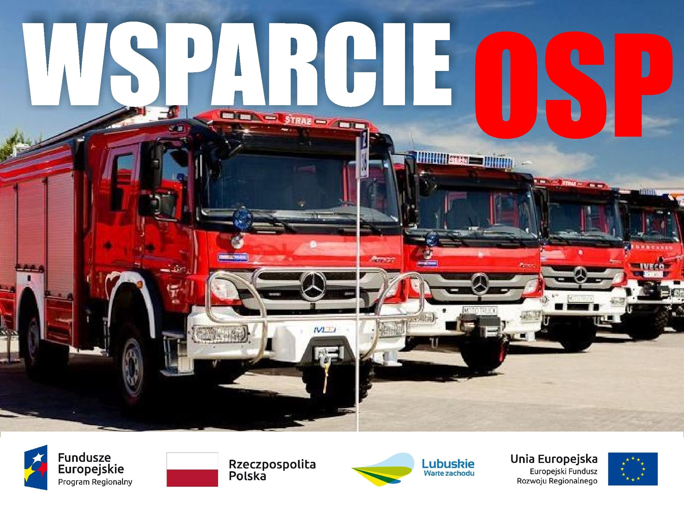 Baner: baner Wsparcie OSP