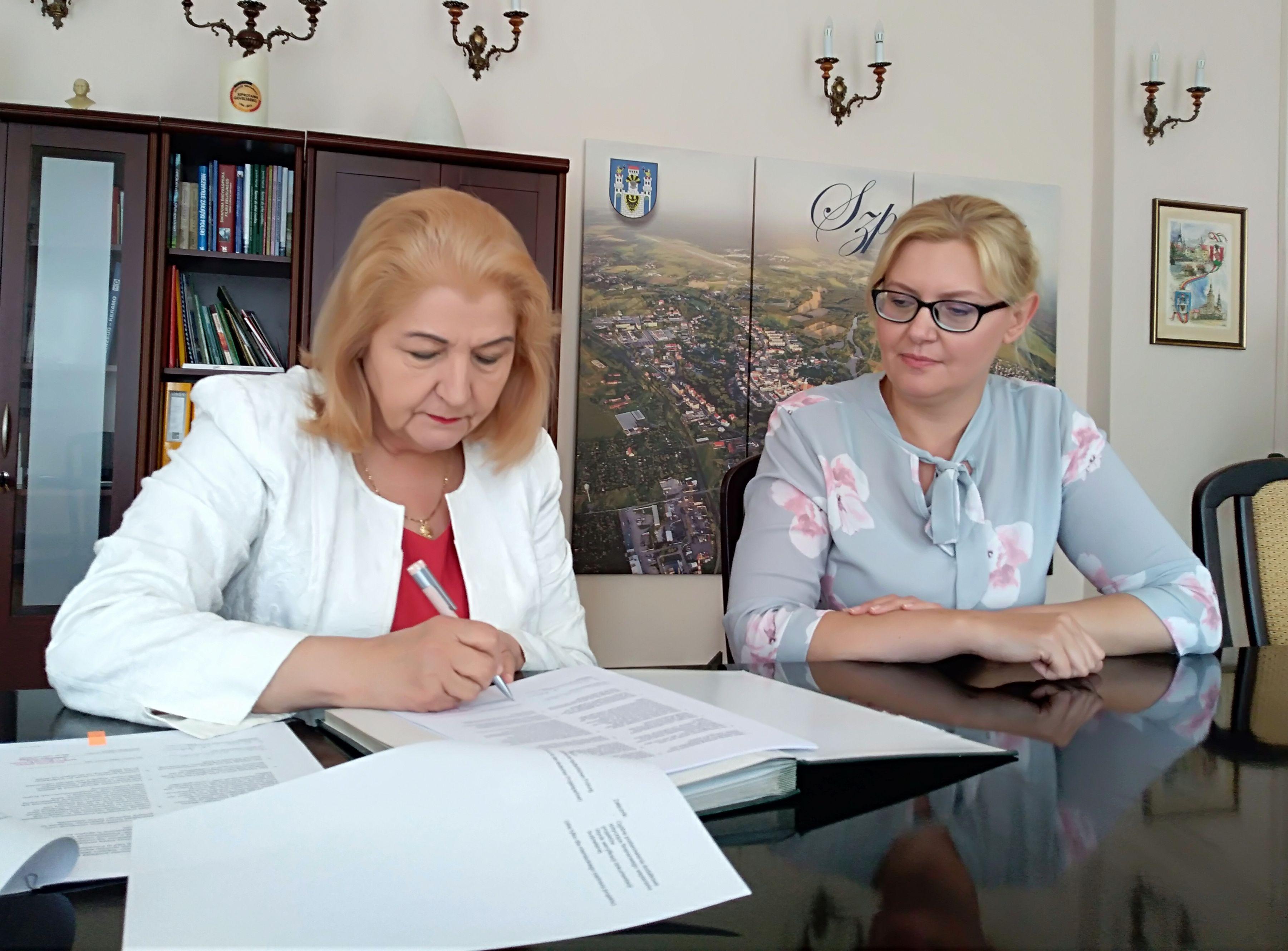 Ilustracja do informacji: Umowa na realizację projektu partnerskiego podpisana!
