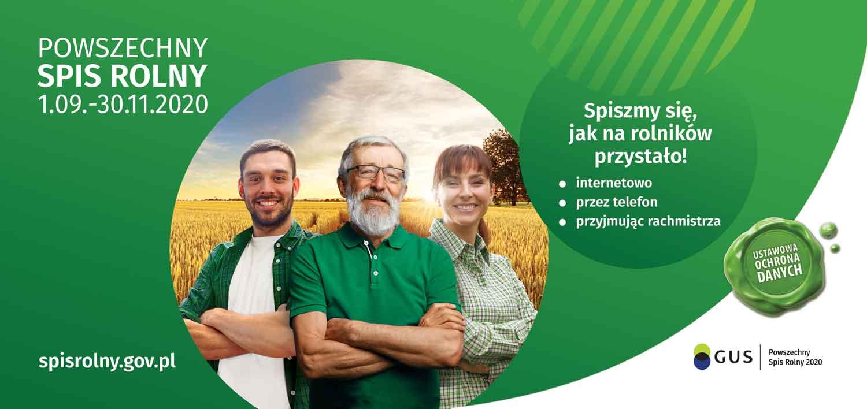 Baner: Powszechny Spis Rolny