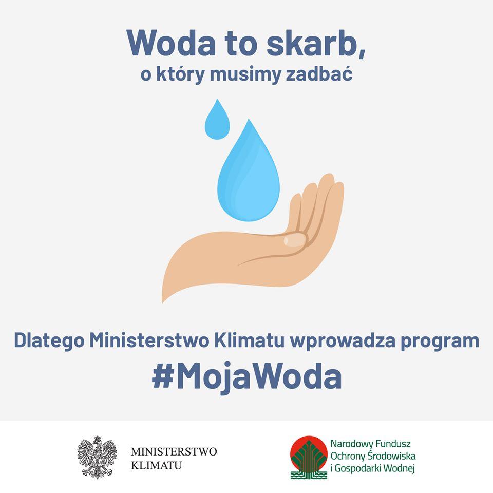 """Ilustracja do informacji: Rusza nabór w programie """"Moja Woda"""""""