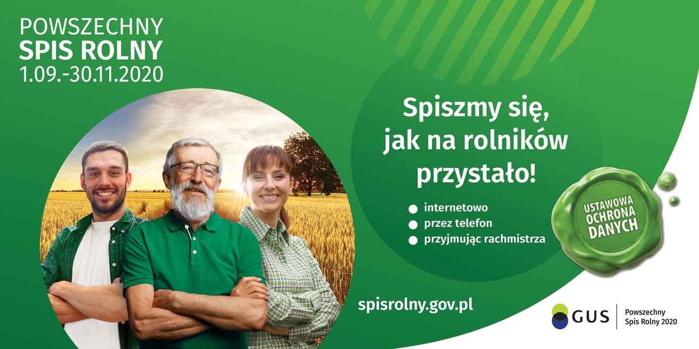 Ilustracja do informacji: Powszechny Spis Rolny