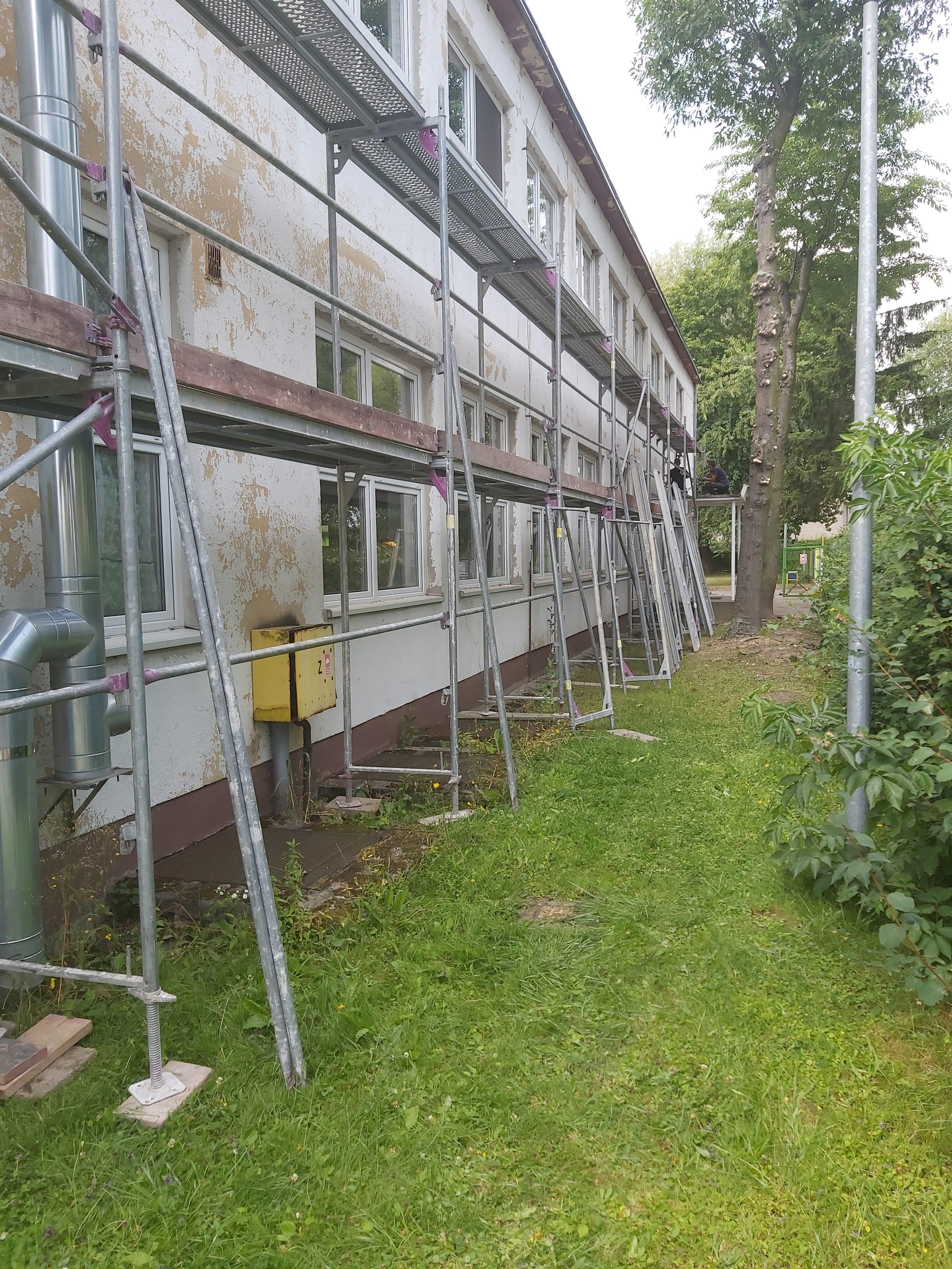 Ilustracja do informacji: Ruszyła termomodernizacja Przedszkola przy Rolnej w Szprotawie