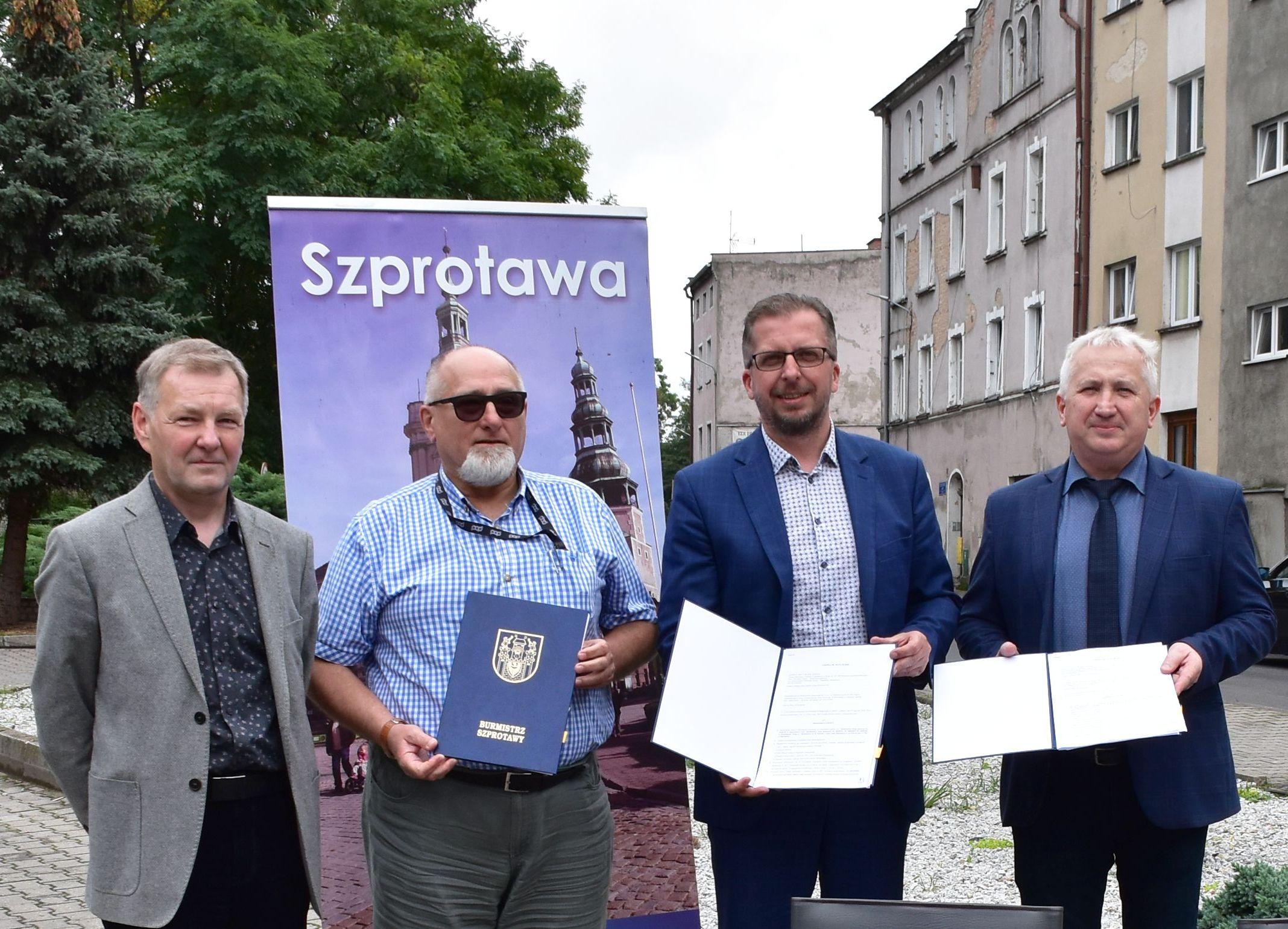 Ilustracja do informacji: Odmieniamy oblicze Szprotawy