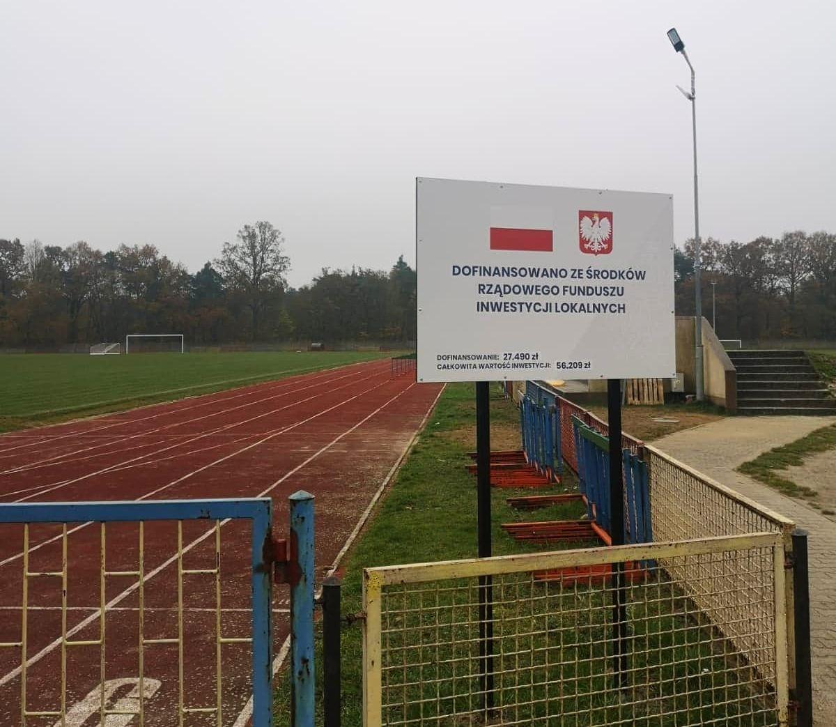 Ilustracja do informacji: Stadion z nowoczesnym systemem nawadniania