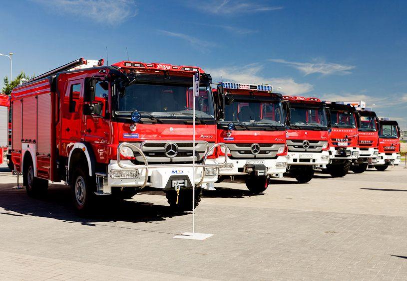 Ilustracja do informacji: Będą nowe wozy dla strażaków ochotników