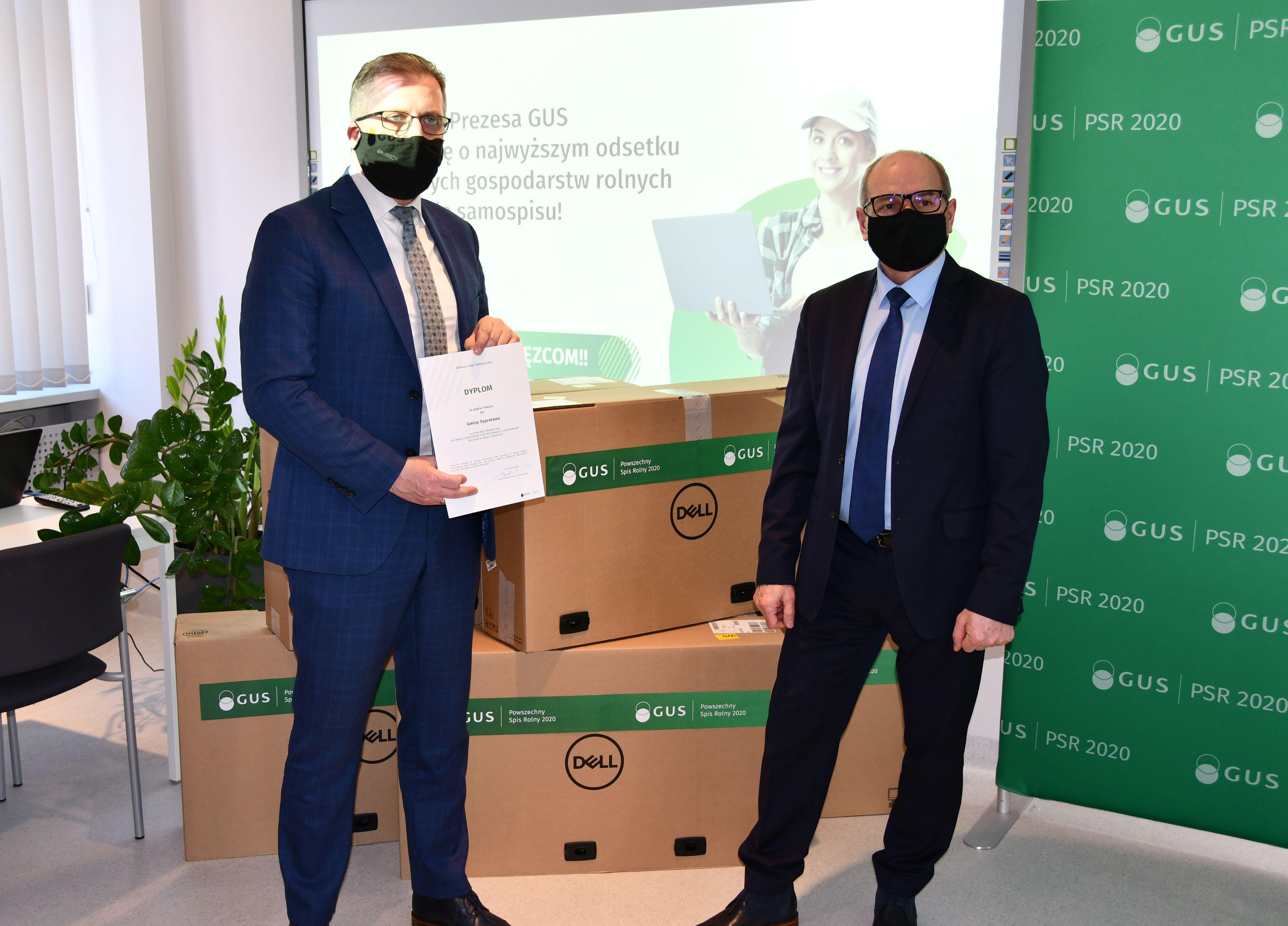 Ilustracja do informacji: Aktywność Szprotawy nagrodzona