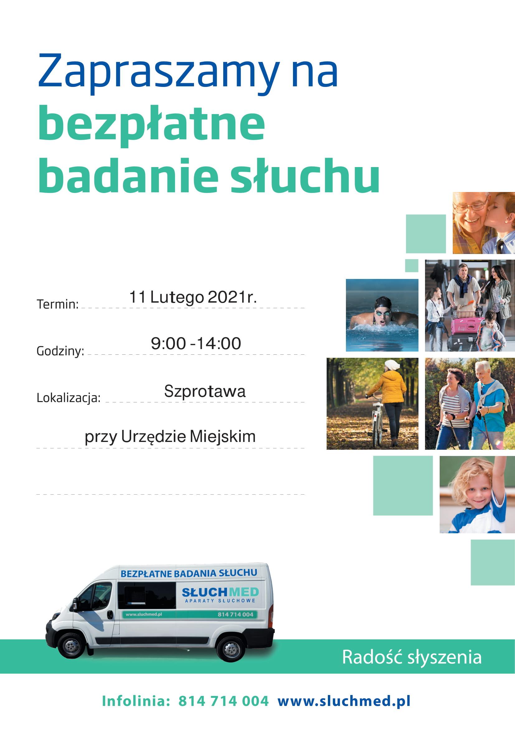Ilustracja do informacji: Bezpłatne badanie słuchu w Szprotawie