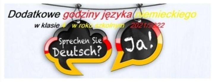Ilustracja do informacji: Dwójka z wiodącym językiem niemieckim!