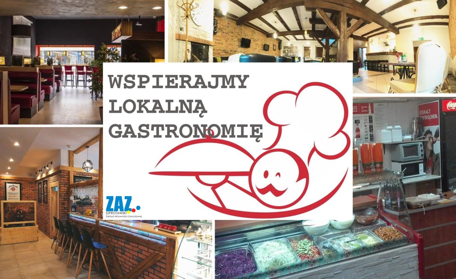Ilustracja do informacji: Wspierajmy naszą gastronomię podczas kryzysu!