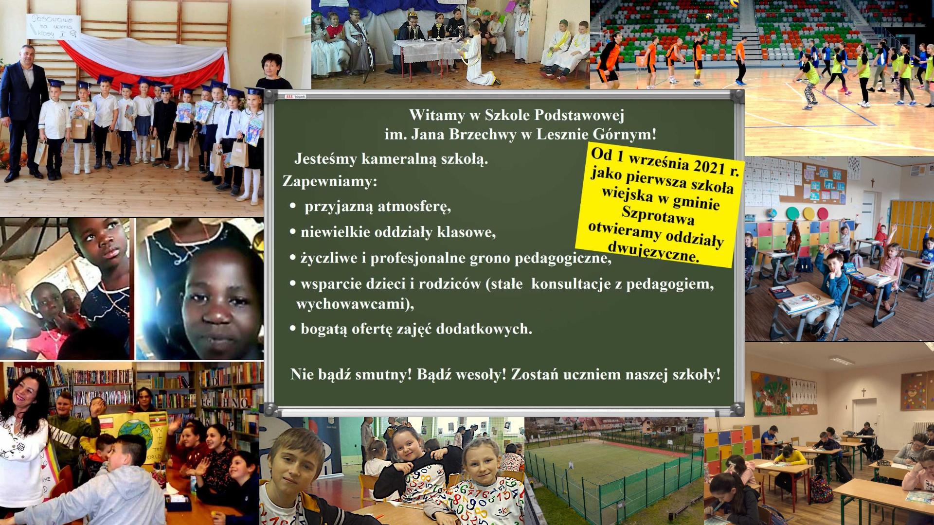 Ilustracja do informacji: Kameralna szkoła z oddziałami dwujęzycznymi