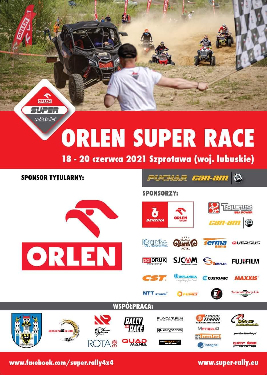 Ilustracja do informacji: Już w przyszły weekend III runda ORLEN Super Race w Szprotawie!!!