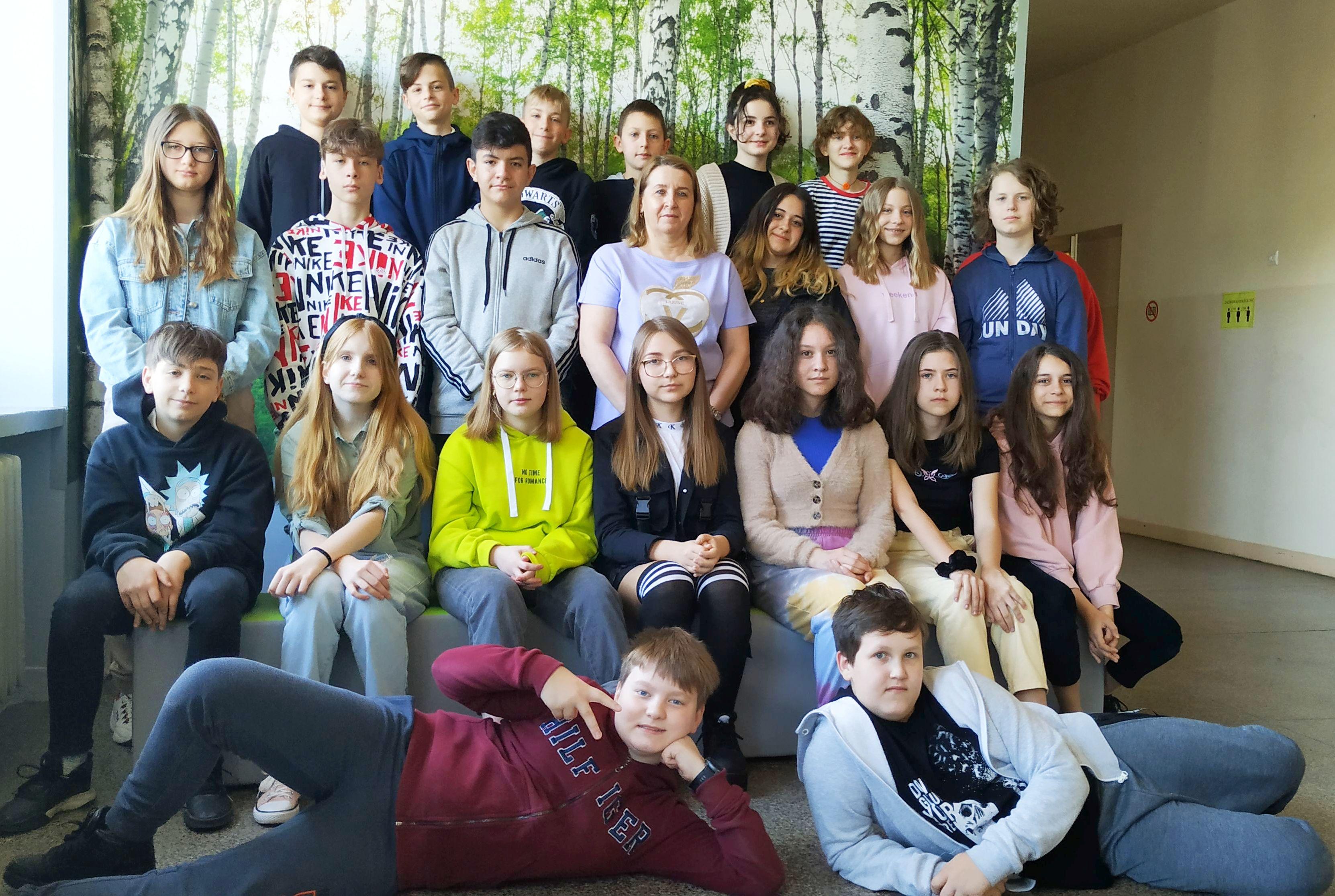 Ilustracja do informacji: Kolejny triumf Szkoły Podstawowej nr 1 w Szprotawie