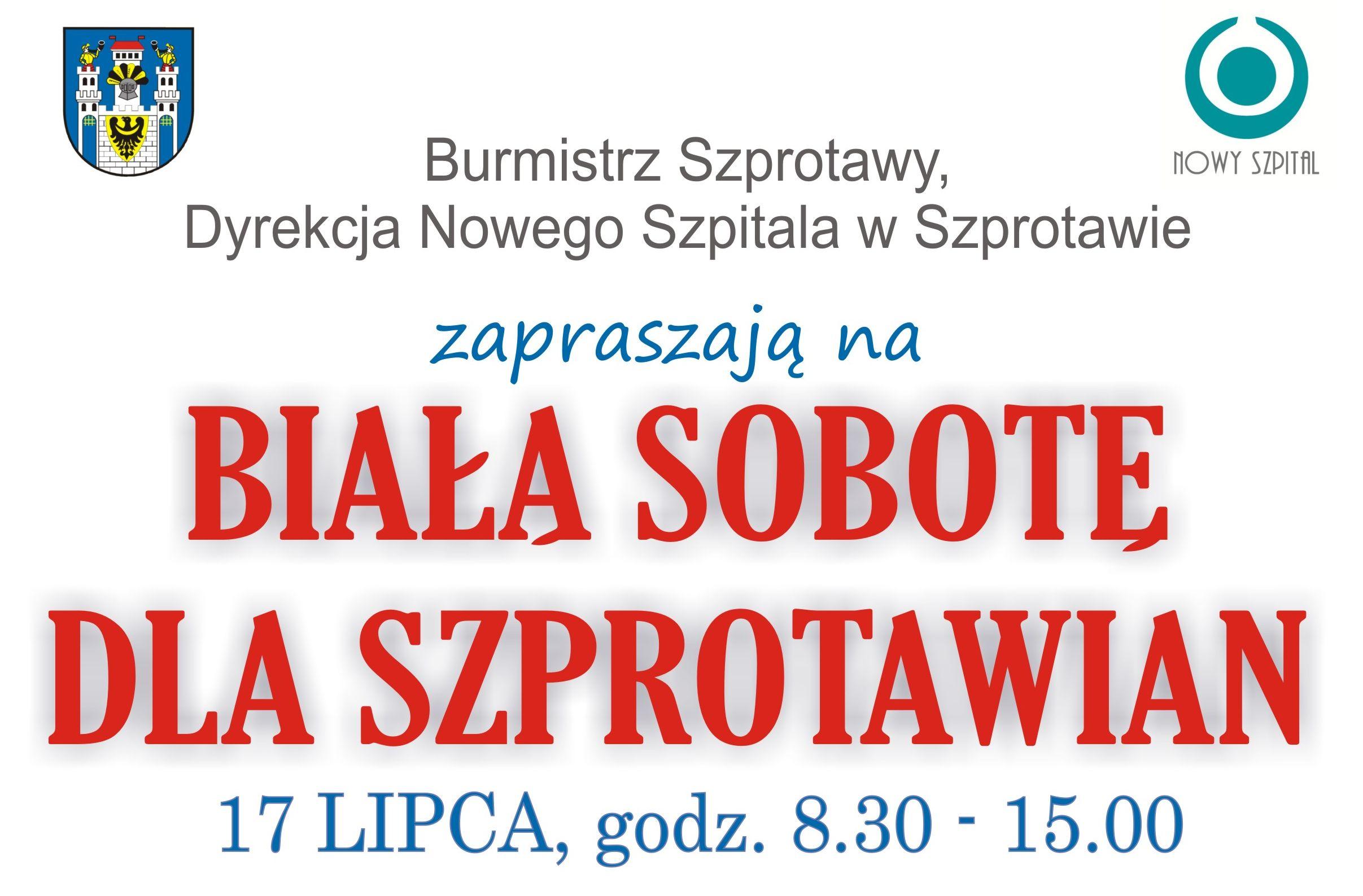 Ilustracja do informacji: Biała Sobota dla Szprotawian