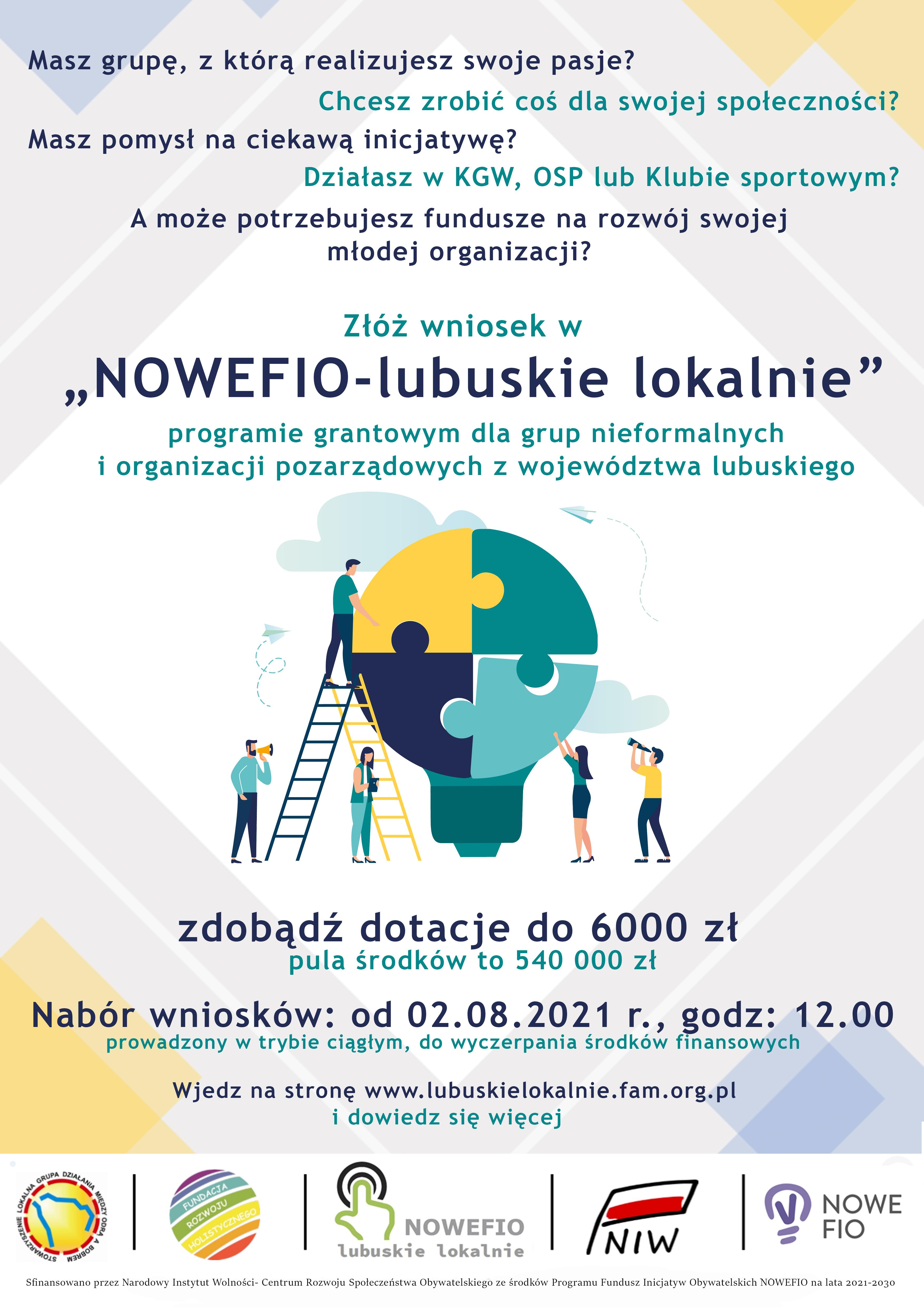 Ilustracja do informacji: NOWEFIO – lubuskie lokalnie