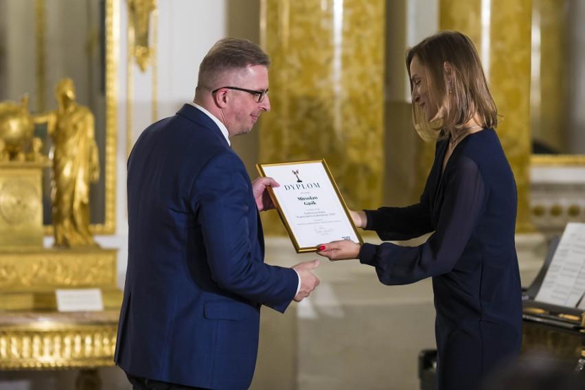 Ilustracja do informacji: Burmistrz Mirosław Gąsik Osobowością Roku 2020