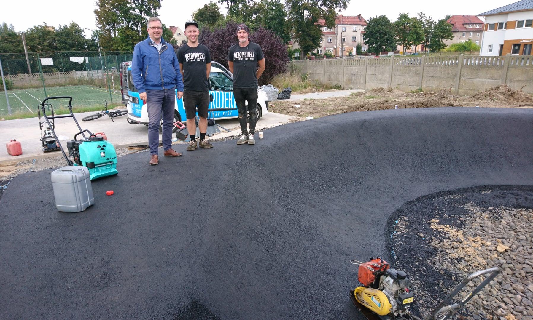 Ilustracja do informacji: Pumptrack Szprotawa będzie wyjątkowy w Polsce